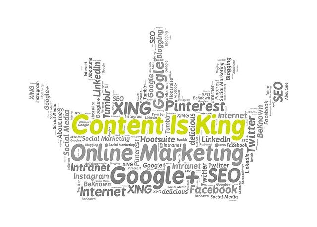 Link Building with content