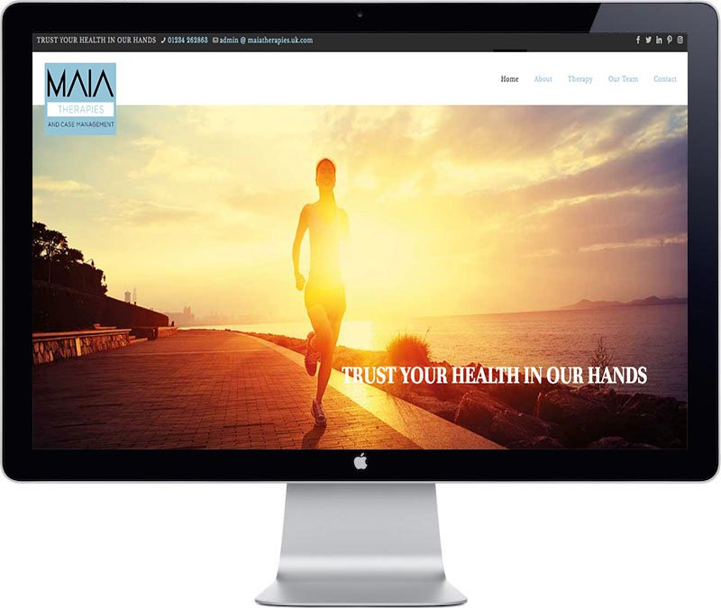 Maia Website Design