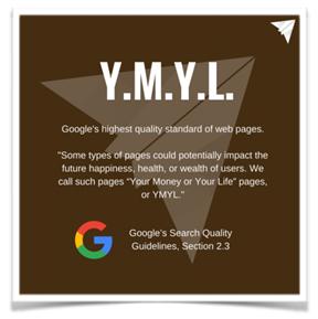 YMYL Update