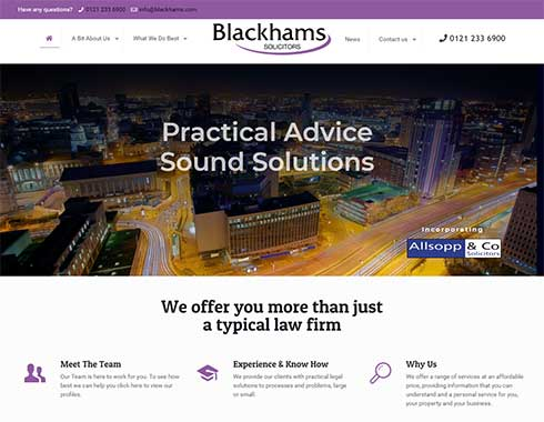 Blackhams Solicitors