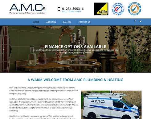 amc plumbers bedford