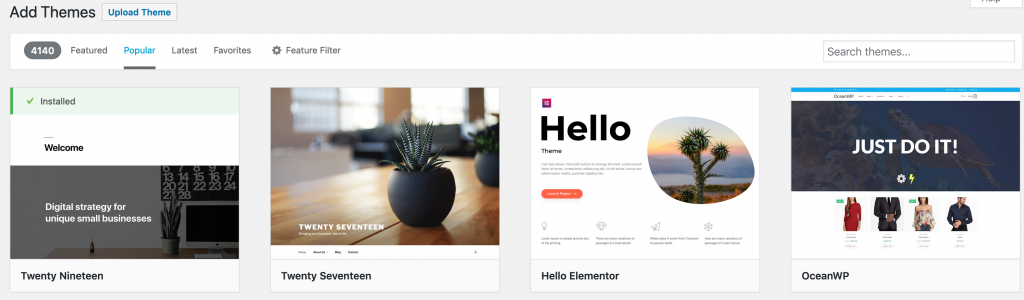 Website Design Bedford 1 Add Theme