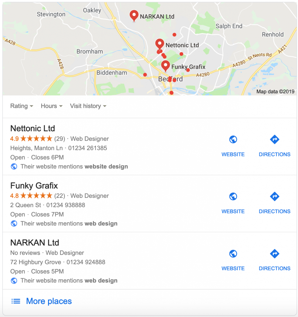 Essential Guide to Local SEO 3 Website design bedford