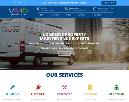 Vivid Website Design