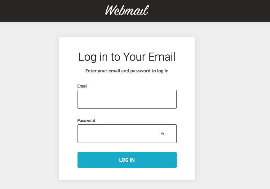 How To Setup Your Email 2 Webmail