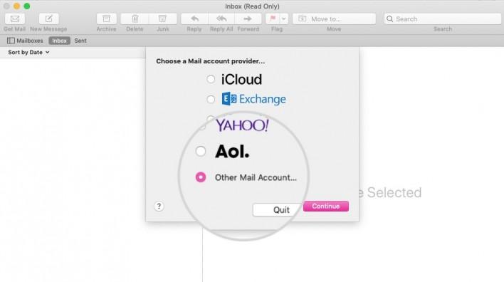 mac email